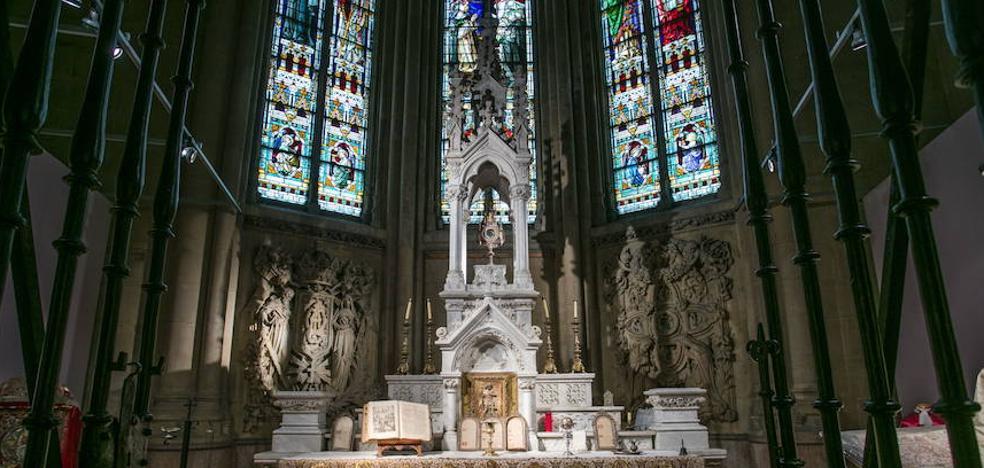 El Museo de Arte Sacro de Álava demanda visitas en su vigésimo aniversario en la Catedral Nueva