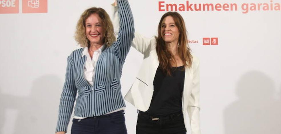 Las candidatas socialistas esperan repetir el 26-M el triunfo de los comicios de abril
