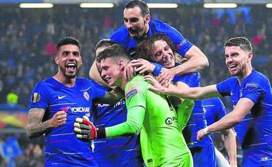 La gran actuación de Kepa mete al Chelsea en la final de la Europa League