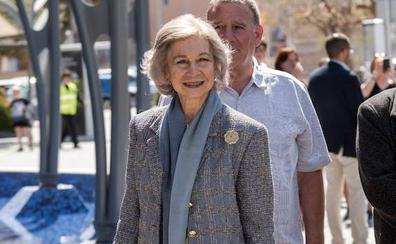 La reina emérita doña Sofía visita este viernes la sede del Banco de Alimentos de Bizkaia