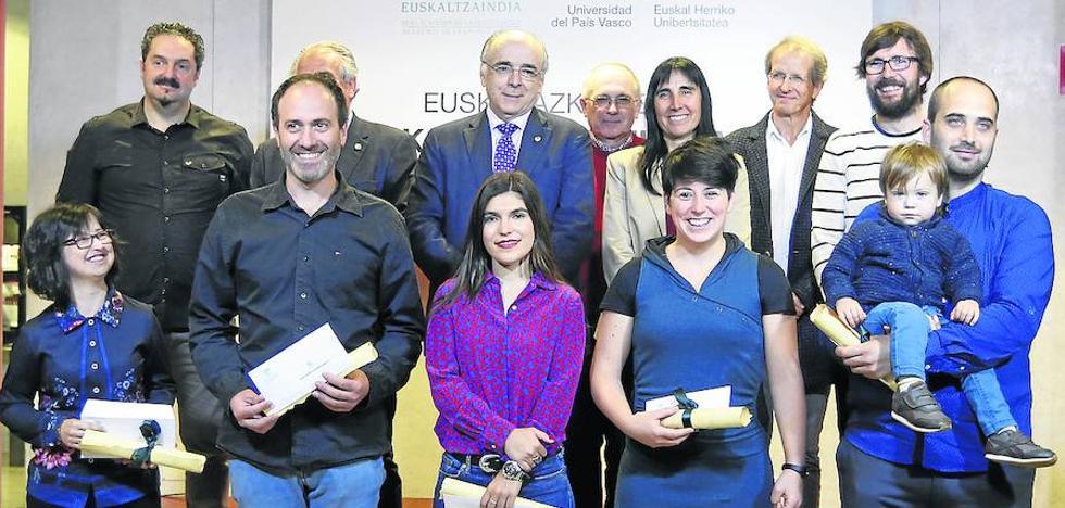 La UPV duplica las tesis en euskera con calificación internacional