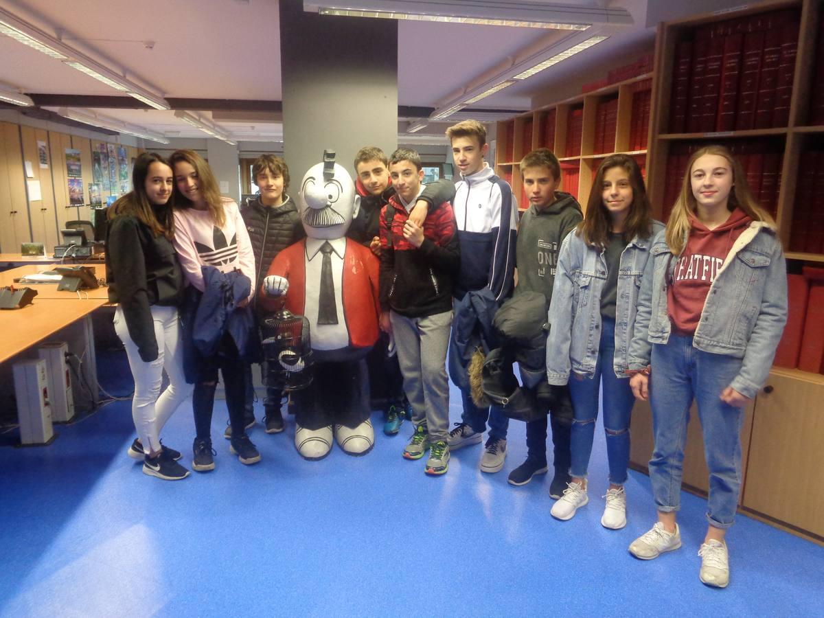 Visita centro escolar Ikasbidea (Vitoria-Gasteiz) - 17 de abril, 7 y 8 de mayo de 2019