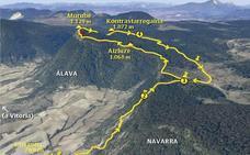 Paseo por Murube, Kontrastarregaina y Aizluze