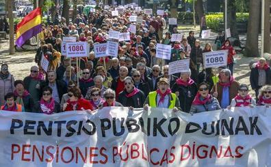 El movimiento por las pensiones irrumpe este sábado en Vitoria en la campaña electoral