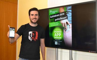 La nueva 'app' municipal de Galdakao incorpora el carné digital de la ciudadanía