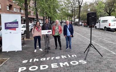Elkarrekin Podemos propone recuperar las supermanzanas en Vitoria
