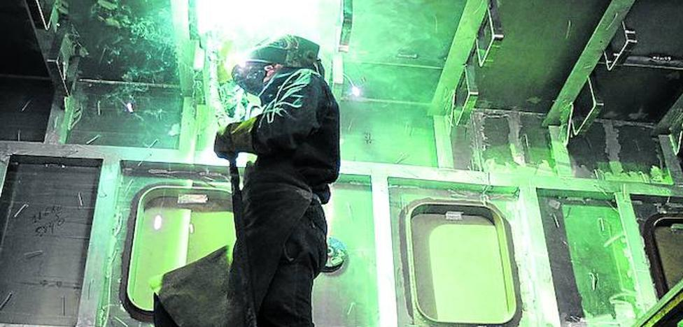 Los sindicatos llaman a una huelga de cinco días a 49.000 trabajadores del metal vizcaíno