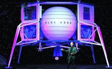 Jeff Bezos se lanza a la conquista de la Luna