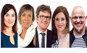 Los candidatos a la Alcaldía de Vitoria debatirán el miércoles en EL CORREO
