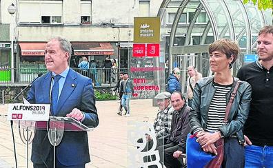 El candidato del PSE en Bilbao abre las puertas del partido a Eguiluz, del PP
