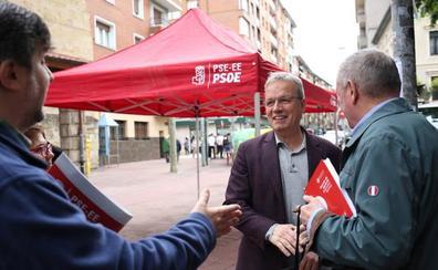 El PSE se lanza al puerta a puerta para acercar su propuesta «de futuro» para Barakaldo
