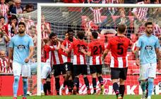El Athletic acaricia Europa y el Celta la permanencia