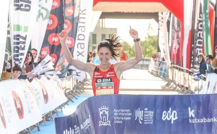 Las imágenes de la Maratón Martín Fiz