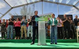 EH Bildu dice que «no hay dos sin tres» y volverá a imponerse al PP en Álava