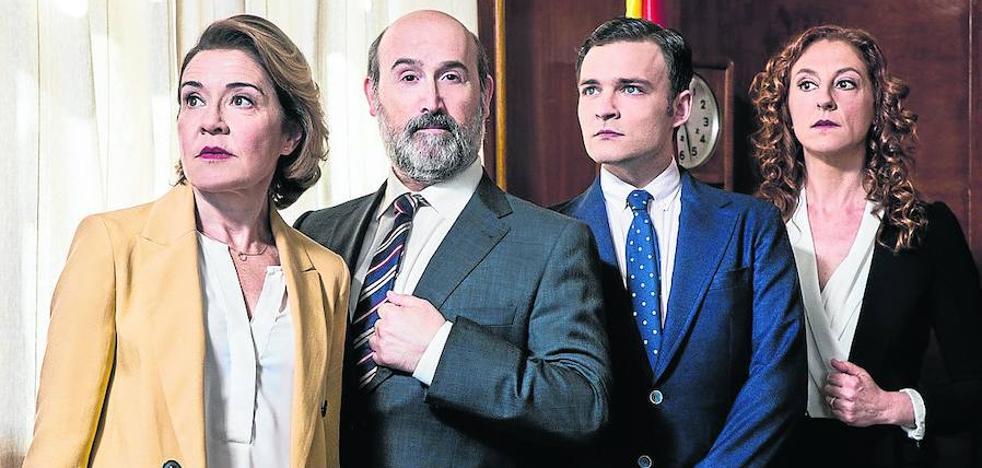 El oficio de escribir sobre política para televisión