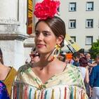 Los pendientes de Portugalete que Sofía Palazuelo lució en Sevilla