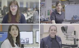 Campaña de Hetel para atraer a mujeres a la FP industrial