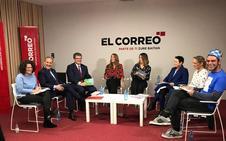 La seguridad y Zorrozaurre prenden la mecha en el debate de los candidatos a la Alcaldía de Bilbao