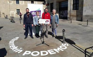 Elkarrekin Podemos apuesta por mejorar el protocolo antidesahucios en Vitoria