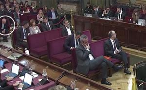 Ibarretxe, entre el público del juicio del 'procés'