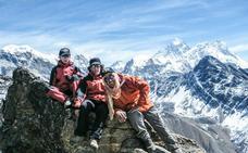 La 'perla' del alpinismo vasco cumple una promesa de niño