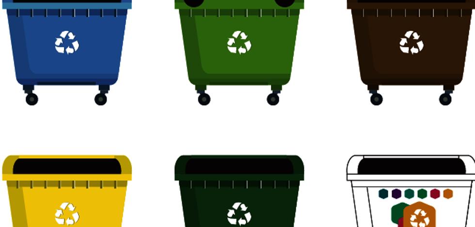 Tuppers de plástico al contenedor amarillo, vasos al de vidrio y otros errores al reciclar
