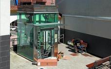 Un ascensor en fase de reparación