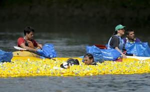 30.000 patitos de goma surcarán la ría por las enfermedades neurodegenerativas