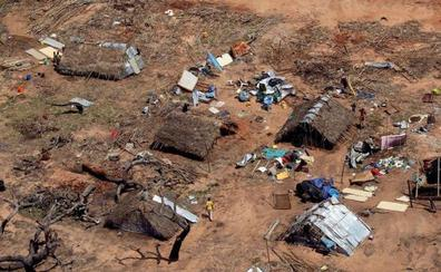 'Idai' eta 'Kenneth' zikloiek kalte handiak eragin dituzte Mozambiken