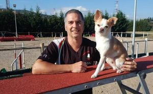 El galdakoztarra Iñaki García participará con su chihuahua en el campeonato mundial de 'agility'