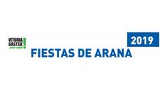 Programa de fiestas de Arana 2019 en Vitoria
