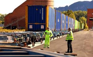 Miranda se posiciona como puerto seco de Barcelona medio año después de abrir la TCM