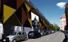 Portugalete decorará la trasera del Puente Colgante con un mural