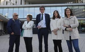 Las fotos del debate entre los candidatos a la Alcaldía de Vitoria