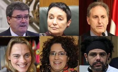 Así pidieron el voto los candidatos a la Alcaldía de Bilbao