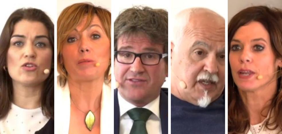 Así pidieron el voto los candidatos a la Alcaldía de Vitoria