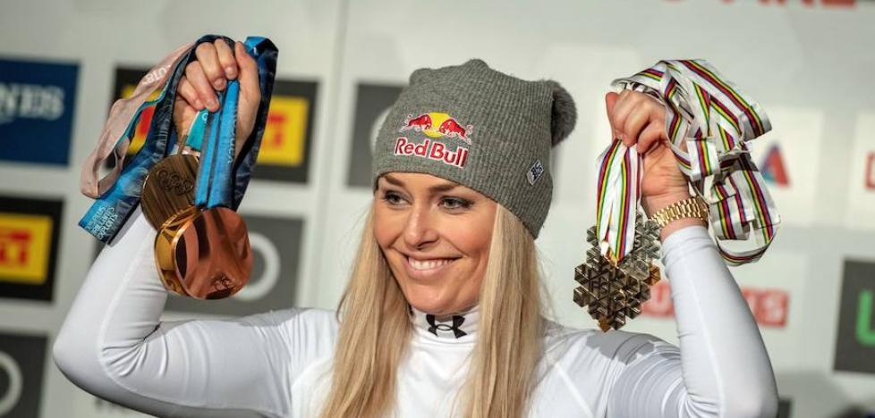Lindsey Vonn, Princesa de Asturias para la mejor esquiadora
