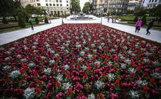 Bilbao estrena flores