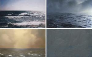 'Gerhard Richter. Itsas paisaiak' erakusketa Guggenheimera heltzear dago