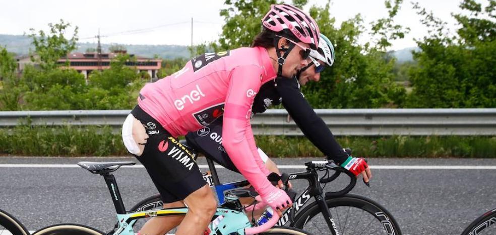 Roglic saca provecho de su primer mal día en el Giro