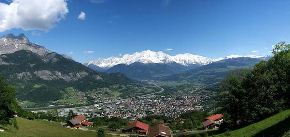 Sallanches, un idílico pueblo de los Alpes bañado por el río Arve