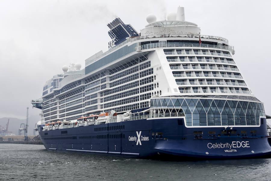 Así es por dentro el crucero 'Celebrity Edge' que ha visitado Getxo
