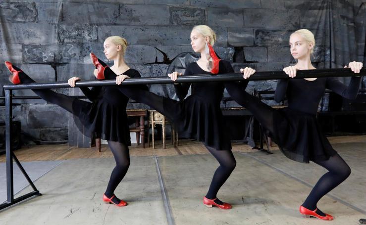 Danza por triplicado