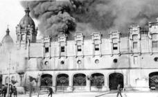 Cien años del incendio de La Alhóndiga