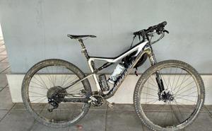 «Un tío se largó con mi bici de 3.800 euros y en dos horas la Policía la recuperó»