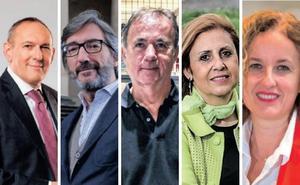 El líder jeltzale, el más valorado, y el candidato del PP, el más conocido en Álava