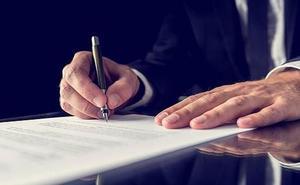 Los testamentos crecen un 20% en una década al firmarlos cada vez más jóvenes