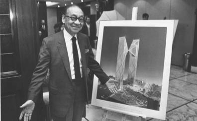 Fallece Ming Pei, padre de la pirámide del Louvre y aspirante frustrado a arquitecto estrella de Bilbao
