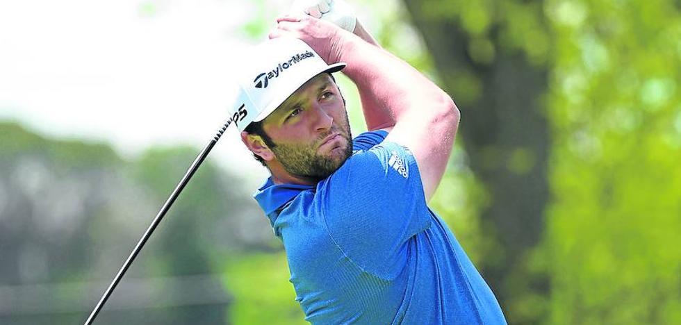 Estreno de contrastes para Jon Rahm en el PGA