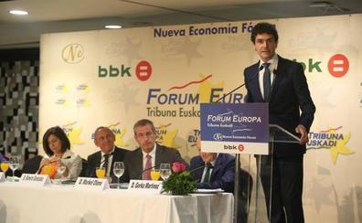 El PNV reivindica su gestión frente a la «tensión» y «desconfianza» que genera Bildu
